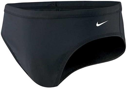 Nike Swimwear Nylon Core Solid Brief Boys Youth TESS0052 Swim Trunks Red $40