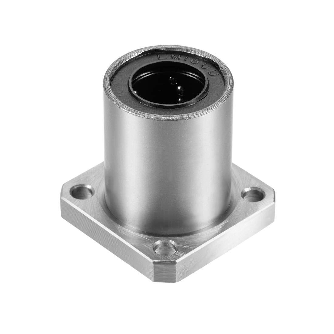 Rodamientos de bolas lineales para impresora 3D o CNC Sourcingmap LMKUU 1Qty LMK16UU