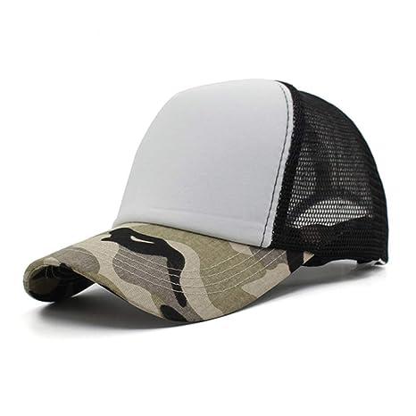 HUOLIMAO Camuflaje Gorra De Béisbol Mujer Gorras Hombres Sombreros ...