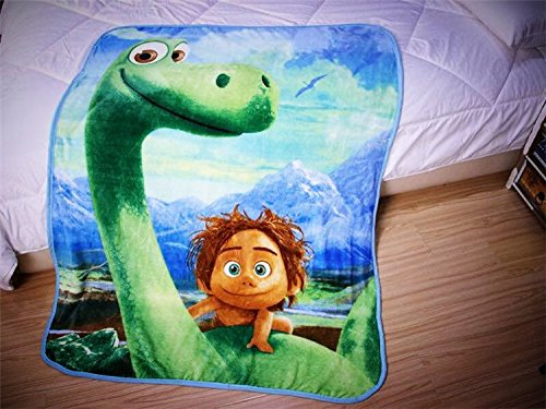 The Good Dinosaur Characters Blanket - Very Soft Home Textiles