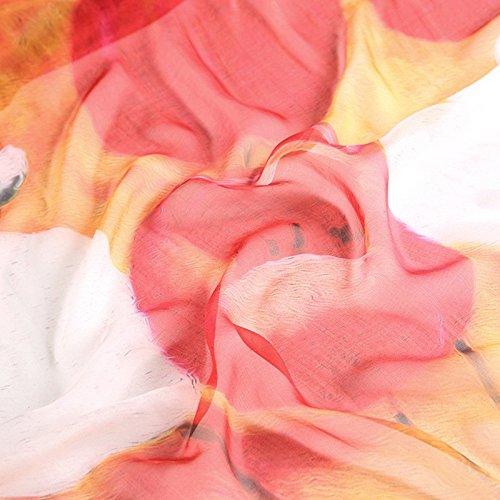de de los colores Impreso solares protectores y seda cm estilo Resistente primavera al 12 de Moda sol Bufanda playa con 5 15 110 180 verano mujer Todos para Estilo Cpxwqqv