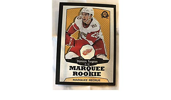 9f9df7df7df Amazon.com  2018-19 O-Pee-Chee Retro Black Border SER100 546 Dominic  Turgeon Detroit Red Wings RC Rookie 18-19 Official OPC Hockey Card (made by  Upper ...