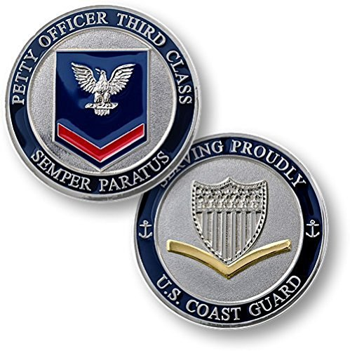 Class Challenge Coin - Coast Guard Petty Officer Third Class Challenge Coin