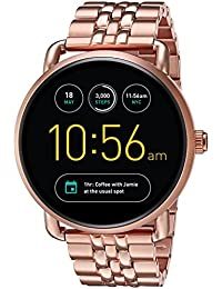 Q Wander Gen 2 Rose Gold-Tone Stainless Steel Touchscreen Smartwatch FTW2112