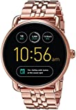 Electronics : Fossil Q Wander Gen 2 Rose Gold-Tone Stainless Steel Touchscreen Smartwatch FTW2112
