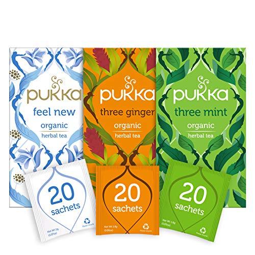 Pukka Thee After-Dinner Bundel – 60 zakjes – 3 smaken x 20 zakjes