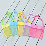 Meiyuan Mesh Beach Bag Tote Shoulder Bag Durable