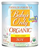 Baby's Only Organic Non-GMO Soy Protein Toddler Formula, 12.7 oz (Pack of 6)