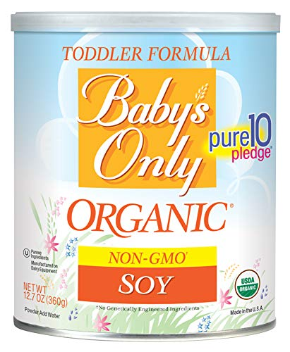 Baby's Only Organic Non-GMO Soy Protein Toddler Formula, 12.7 oz (Pack of 6) ()