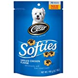 Cesar Softies Grilled Chicken Flavor Dog Treat (Pack of 8), My Pet Supplies