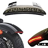 LED Tail Light, ACUMSTE Luces Traseras de Motocicleta High Mount Stop Warning lámpara universal ParaHarley Sportster XL883 N 1200 N XL1200 V XL1200 X