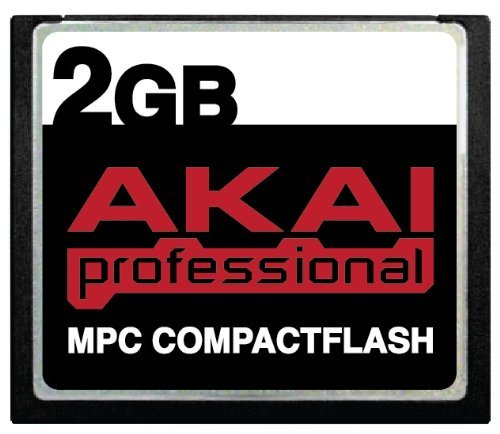 2GB Akai MPC CompactFlash CF Memory Card for MPC500, MPC1...