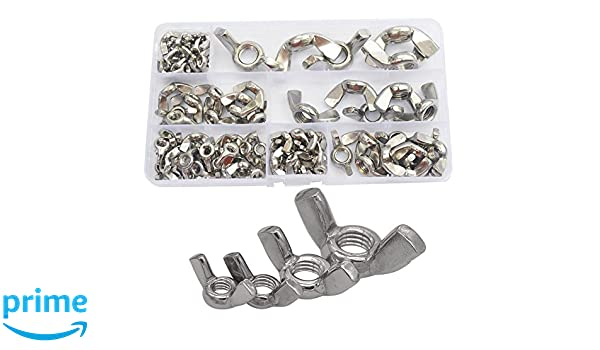 150-Piece Pit Bull CHI055 Wing Nuts Assortment Fasteners Tools ...