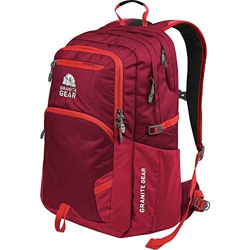 Hideaway Backpack Straps - Granite Gear Sawtooth Backpack, Harvest Red/Red Rock/Ember Orange