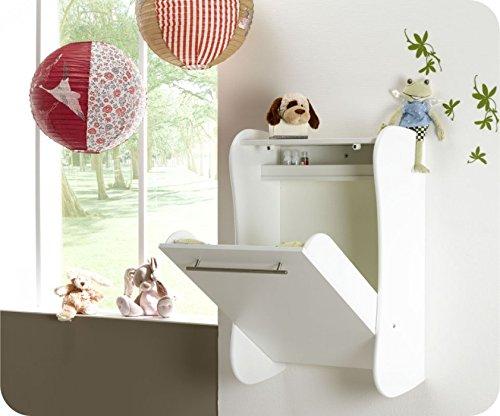 wand wickeltisch eden wei bettmix. Black Bedroom Furniture Sets. Home Design Ideas