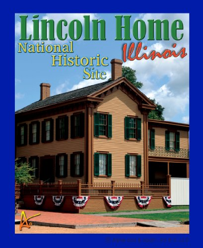 Best Ultimate Iron On Lincoln Home Travel Collectable Souvenir Patch - National Parks & Monuments Souvenir Postcard Type Quality Photos Graphics - Lincoln Home