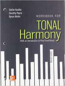 Workbook for Tonal Harmony with Connect Access Card ...