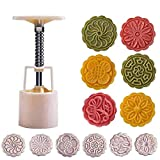Powerful Mooncake Mold Circle/Flower/Square