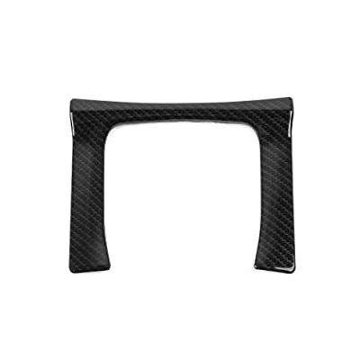 Thenice for 10th Gen Civic ABS Plastic Carbon Fiber Style Gear Panel Trim Shift Box Decoration Cover for Honda Civic 2020 2020 2020 2020 2016 -Manual Transmission: Automotive