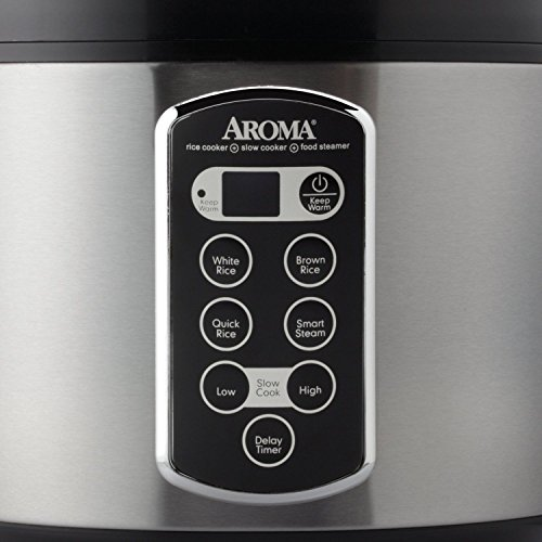 20-cup Stainless Steel Rice Cooker
