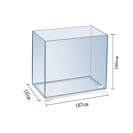 GONGYU - Pecera de Cristal con Forma de corazón para Acuario