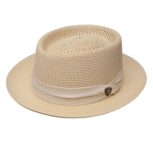 Dobbs Bishop Milan Straw Hat-Beige-7_14