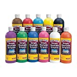 Colorations® Simply Washable Tempera Paint - 16 oz., Set of 11 Colors (Item # SWT16)