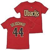 Arizona Diamondbacks Paul Goldschmidt #44 MLB Little Boys 4-7 Player Tee, Red