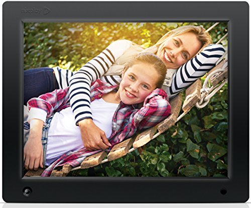 nixplay original 12 inch wifi cloud digital photo frame iphone android app email facebook dropbox instagram flickr google photos w12a