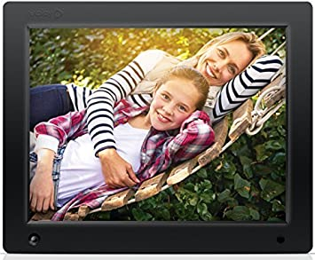 nixplay original 12 inch wifi cloud digital photo frame iphone android app email