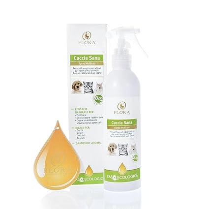 Flora-caseta para perro buena spray para entornos igienizzante y Ambientador bio 200 ml