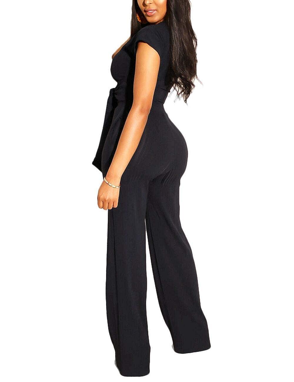 b9965ce744ae Amazon.com: Angsuttc Women Glitter 2 Piece Outfits Sexy Bandage Tie Front  Crop Top + Long Pencil Pants Set: Clothing