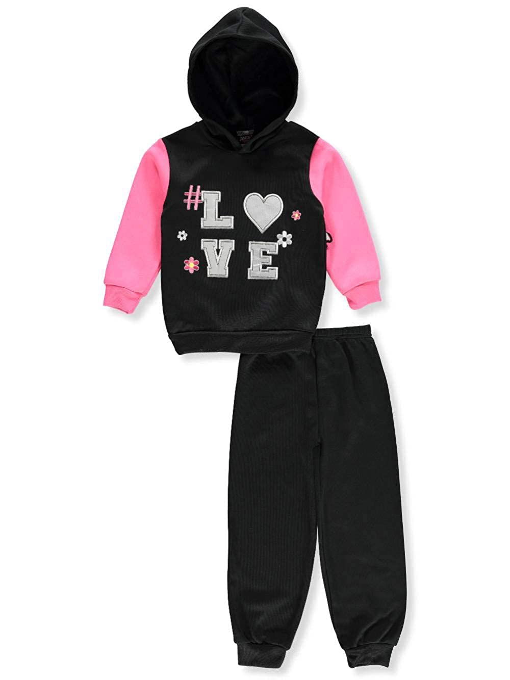 Angel Face Girls 2-Piece Sweatsuit Pants Set