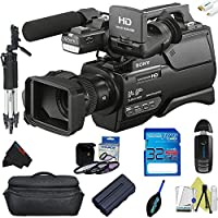 Sony HXR-MC2500 Shoulder Mount AVCHD Camcorder + Pixi-Basic Accessory Kit