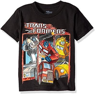 Transformers Boys' Vintage T-Shirt
