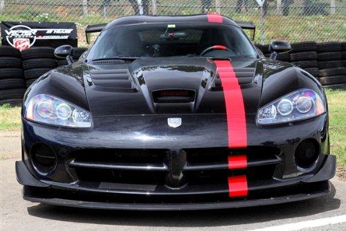 Dodge SRT SRT10 Viper GTS ACR Black Front HD Poster Race Car 48 X 32 Inch Print