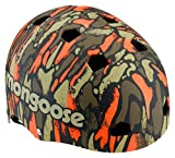 Mongoose Youth Logo Camo Grit Helmet, Orange/Green Review