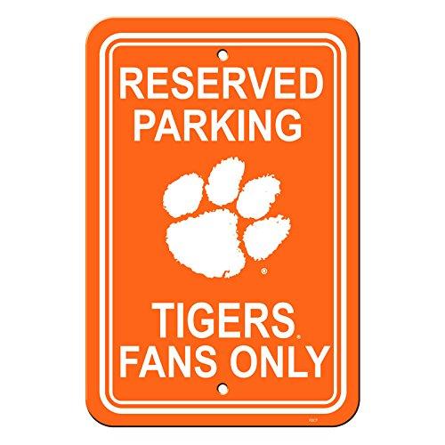 - Official National Collegiate Athletic Association Fan Shop Authentic NCAA Parking Sign (Clemson Tigers)