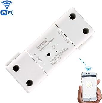 WiFi Smart Plug, encender/apagar la electrónica desde cualquier lugar un puerto USB con mando a distancia inteligente función de calendario para electrodomésticos, libre iOS/Android App: Amazon.es: Electrónica
