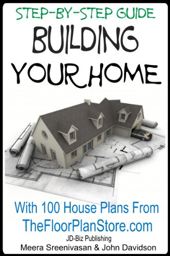 Step By Guide Building your Home With 100 House plans from The Floor  Plan Store Amazon com