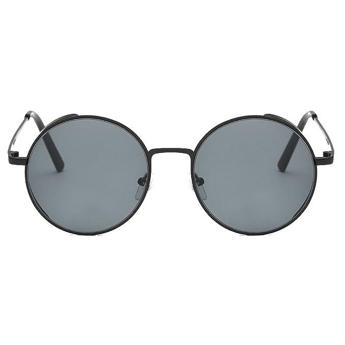 Amazon.com: anteojos de sol, forthery Mujer Redonda Clásica ...