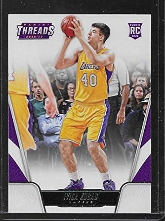 bd63c68a61b Basketball NBA 2016-17 Panini Threads #175 Ivica Zubac #175 NM+ RC Rookie