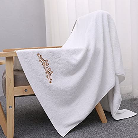 clg-fly Hotel toalla toallas de algodón aumentar la gruesa, color blanco: Amazon.es: Hogar