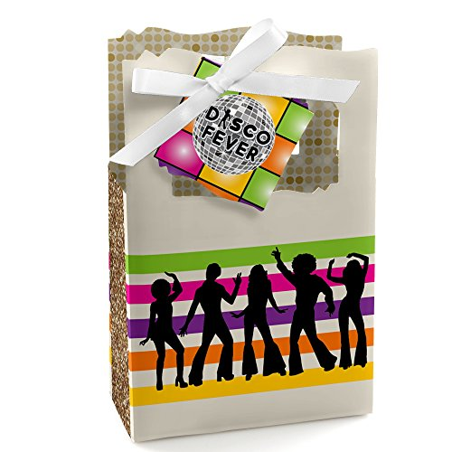 70's Disco - 1970's Disco Fever Party Favor Boxes - Set of 12 -