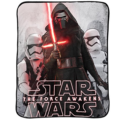 Star Wars Ep7 'Battle Front' Plush Throw