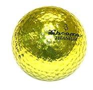 Golf Chromax M1 Golf Ball Gold Shiny 3 Balls Sleeve