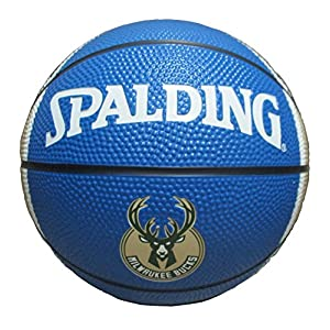 NBA Milwaukee Bucks Mini Basketball, 7-inches