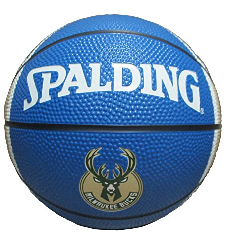 NBA Milwaukee Bucks Mini Basketball, 7-inches by Game Master