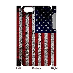VNCASE American Retro Flag Phone Case For Iphone 5C [Pattern-1]