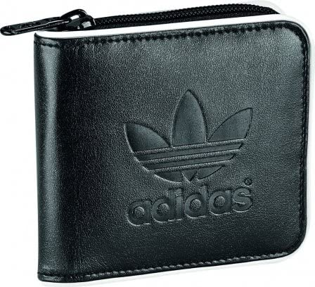 adidas Portemonnaie Adicolor, blackwhite, 11cm x 10,5cm